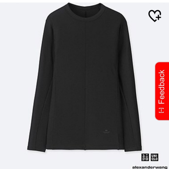 e2af7cacb1be1 2 Alexander Wang for Uniqlo heat tech tees. M_5c3a2810d6dc5273a57fd436